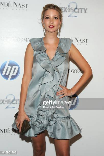 Ivanka Trump attends HP and COND… NAST Screening of 'Sex the City 2' at Paris Theater on May 25 2010 in New York City