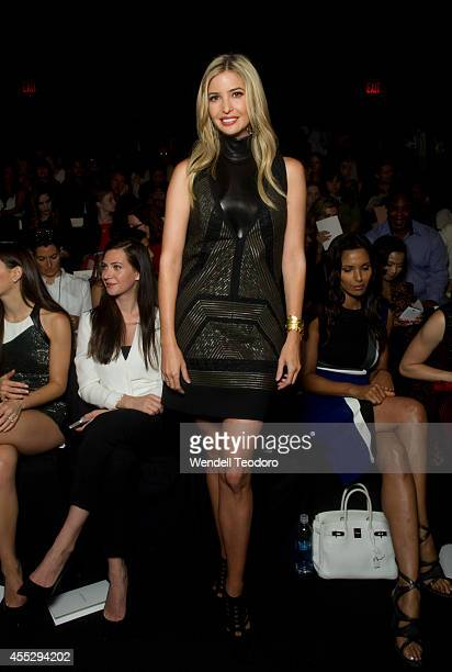 Ivanka Trump attends J Mendel during MercedesBenz Fashion Week Spring 2015 at The Theatre at Lincoln Center on September 11 2014 in New York City