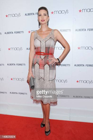 Ivanka Trump attends Macy's Celebrates The Launch Of 'Alberta Ferretti For Impulse Only At Macy's' With Designer Alberta Ferretti at Macy's Herald...