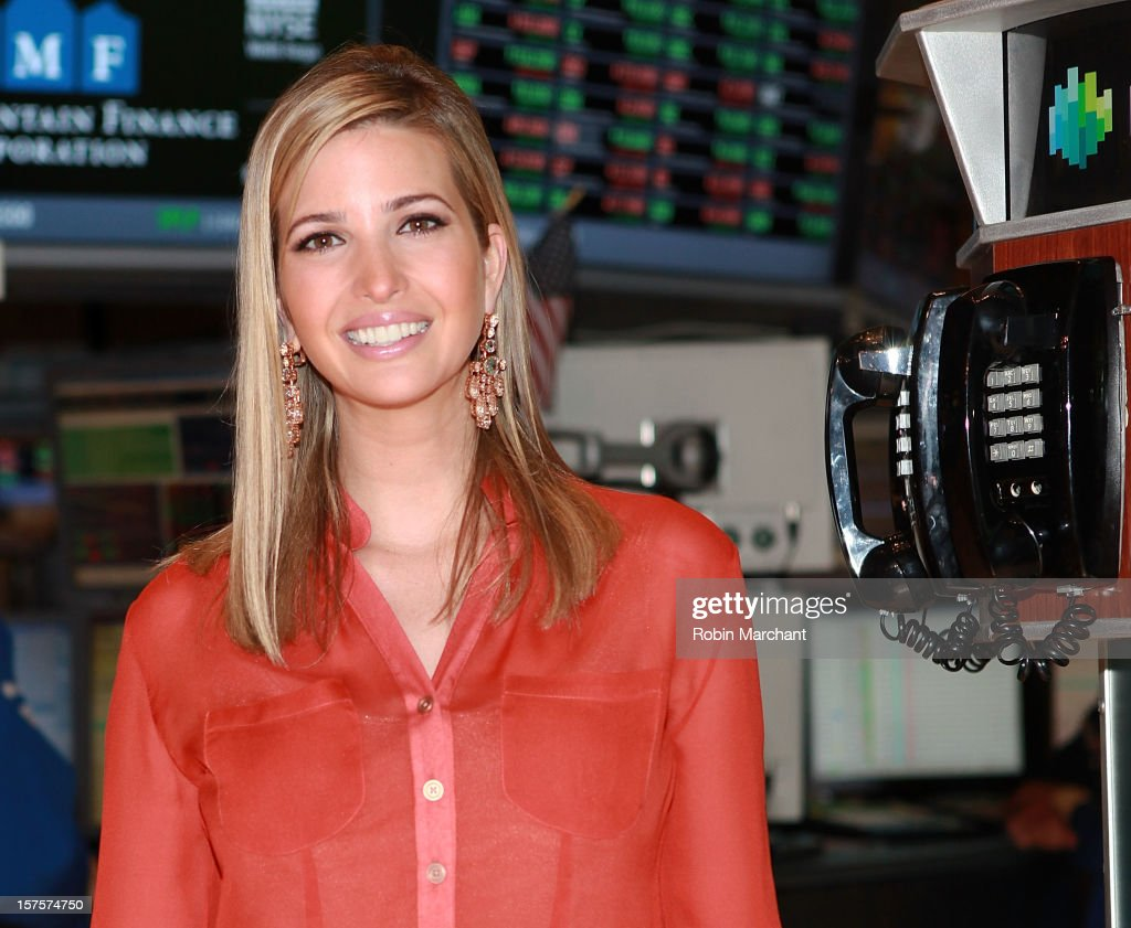 Ivanka Trump attends NYSE Euronext 89th Annual NYSE Christmas Tree Lighting Celebration at New York Stock Exchange on December 4, 2012 in New York City.
