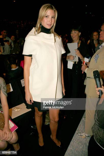 Ivanka Trump attends PORTS 1961 Spring 2010 Collection at The Tent on September 10 2009 in New York City