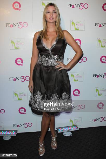 Ivanka Trump attends QVC Presents 'FFANY SHOES ON SALE' at the Frederick P Rose Hall at Jazz at Lincoln Center on October 13 2010 in New York City
