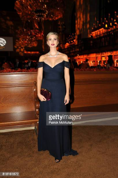 Ivanka Trump attends The 2010 LIBRARY LIONS GALA at The New York Public Library on November 1 2010 in New York City