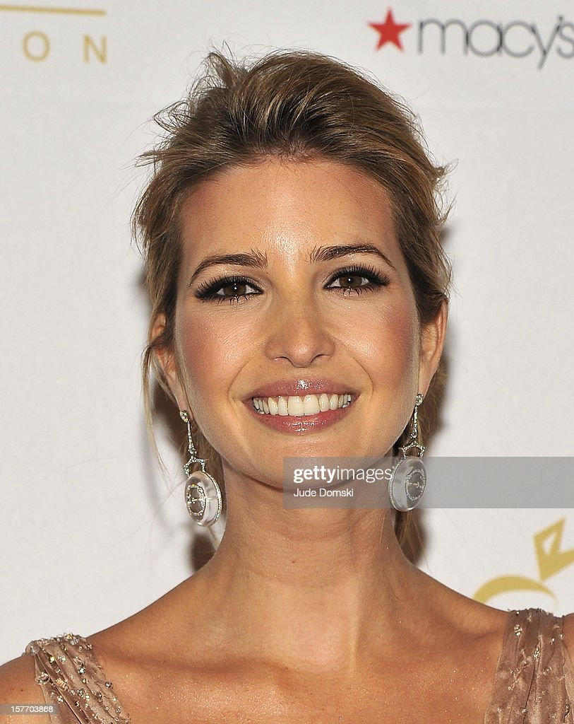 Ivanka Trump attends the 2012 European School Of Economics Foundation Vision And Reality Awards at Cipriani 42nd Street on December 5, 2012 in New York City.