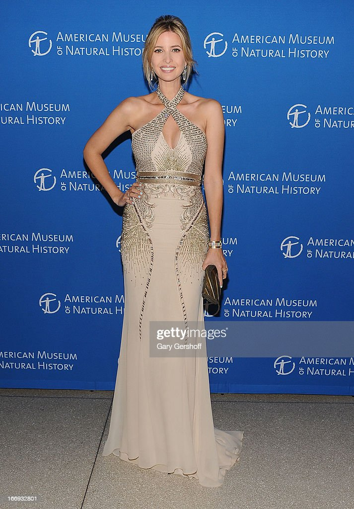 Ivanka Trump attends the 2013 American Museum Of Natural History Museum Dance on April 18 2013 in New York City