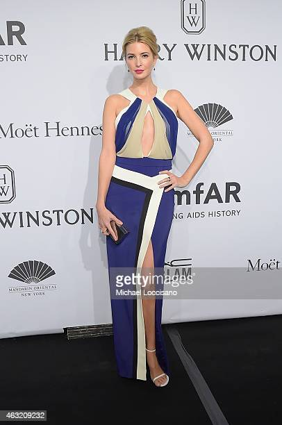 Ivanka Trump attends the 2015 amfAR New York Gala at Cipriani Wall Street on February 11 2015 in New York City