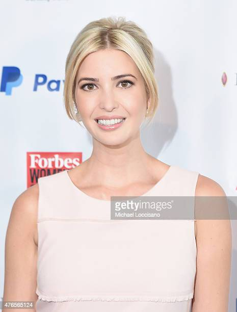 Ivanka Trump attends the 2015 Forbes Women's Summit Transforming The Rules Of Engagement at Pier 60 on June 10 2015 in New York City