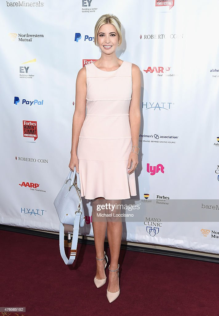 Ivanka Trump attends the 2015 Forbes Women's Summit: Transforming The Rules Of Engagement at Pier 60 on June 10, 2015 in New York City.