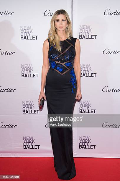 Ivanka Trump attends the 2015 New York City Ballet Fall Gala at the David H Koch Theater at Lincoln Center on September 30 2015 in New York City