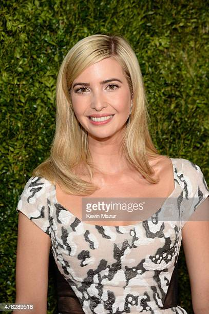 Ivanka Trump attends the 2015 Tony Awards at Radio City Music Hall on June 7 2015 in New York City