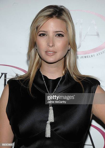 Ivanka Trump attends the 26th Annual Women's Jewelry Association Awards For Excellence Gala at Pier Sixty at Chelsea Piers on July 27 2009 in New...