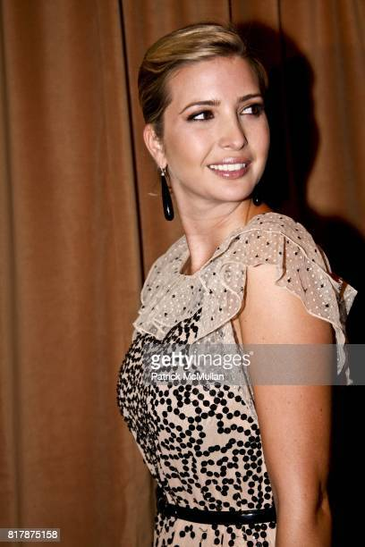 Ivanka Trump attends The 5th Important Dinner for Women at Mandarin Oriental on September 20 2010 in New York City