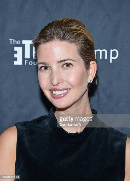 Ivanka Trump attends the 9th Annual Eric Trump Foundation Golf Invitational Auction Dinner at Trump National Golf Club Westchester on September 21...
