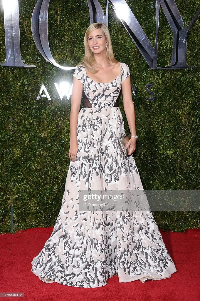 Ivanka Trump attends the American Theatre Wing's 69th Annual Tony Awards at Radio City Music Hall on June 7, 2015 in New York City.