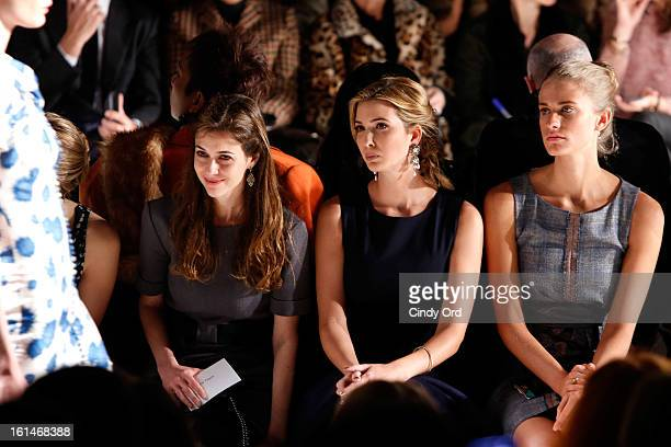 Ivanka Trump attends the Carolina Herrera Fall 2013 fashion show during MercedesBenz Fashion Week at The Theatre at Lincoln Center on February 11...