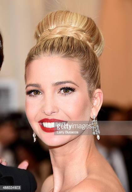 Ivanka Trump attends the 'Charles James Beyond Fashion' Costume Institute Gala at the Metropolitan Museum of Art on May 5 2014 in New York City