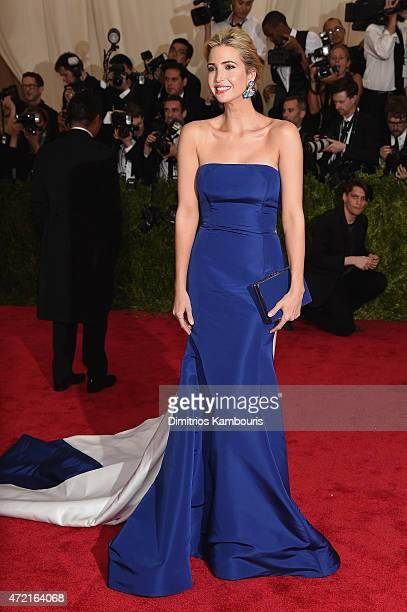 Ivanka Trump attends the 'China Through The Looking Glass' Costume Institute Benefit Gala at the Metropolitan Museum of Art on May 4 2015 in New York...