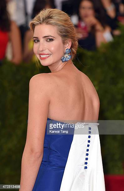 Ivanka Trump attends the 'China Through The Looking Glass' Costume Institute Benefit Gala at Metropolitan Museum of Art on May 4 2015 in New York City