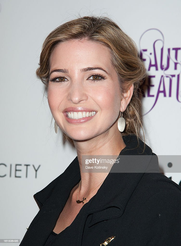 <a gi-track='captionPersonalityLinkClicked' href=/galleries/search?phrase=Ivanka+Trump&family=editorial&specificpeople=159375 ng-click='$event.stopPropagation()'>Ivanka Trump</a> attends The Cinema Society And Dior Beauty Presents A Screening Of 'Beautiful Creatures' at Tribeca Cinemas on February 11, 2013 in New York City.