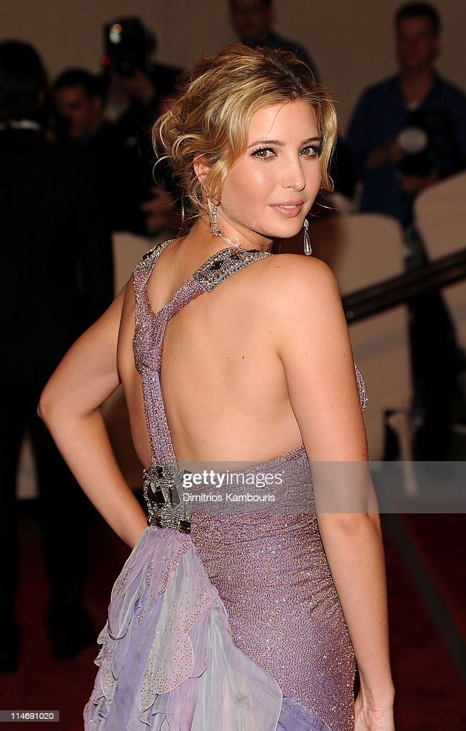 Ivanka Trump attends the Costume Institute Gala Benefit to celebrate the opening of the 'American Woman: Fashioning a National Identity' exhibition at The Metropolitan Museum of Art on May 3, 2010 in New York City.
