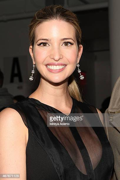Ivanka Trump attends the Cushnie Et Ochs MADE Fashion Week Fall 2014 at Milk Studios on February 7 2014 in New York City