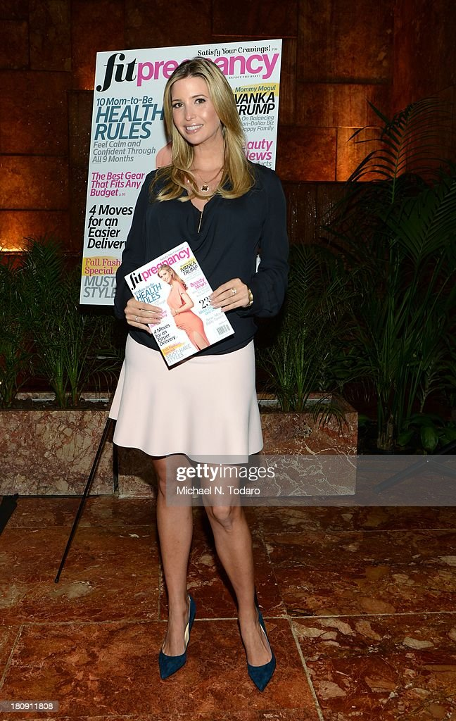 <a gi-track='captionPersonalityLinkClicked' href=/galleries/search?phrase=Ivanka+Trump&family=editorial&specificpeople=159375 ng-click='$event.stopPropagation()'>Ivanka Trump</a> attends the Fit Pregnancy <a gi-track='captionPersonalityLinkClicked' href=/galleries/search?phrase=Ivanka+Trump&family=editorial&specificpeople=159375 ng-click='$event.stopPropagation()'>Ivanka Trump</a> Cover Party at Trump Tower Atrium on September 17, 2013 in New York City.