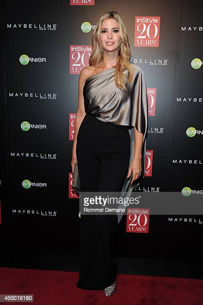 Ivanka Trump attends the Instyle Hosts 20th Anniversary Party at Diamond Horseshoe at the Paramount Hotel on September 8 2014 in New York City