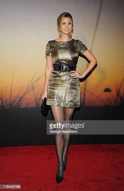 Ivanka Trump attends the MoMa Film Benefit Gala Honoring Baz Luhrmann at the Museum of Modern Art on November 10 2008 in New York City