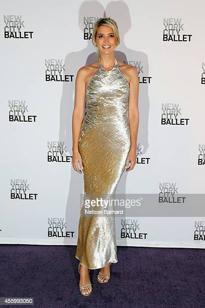 Ivanka Trump attends the New York City Ballet 2014 Fall Gala at David H Koch Theater at Lincoln Center on September 23 2014 in New York City