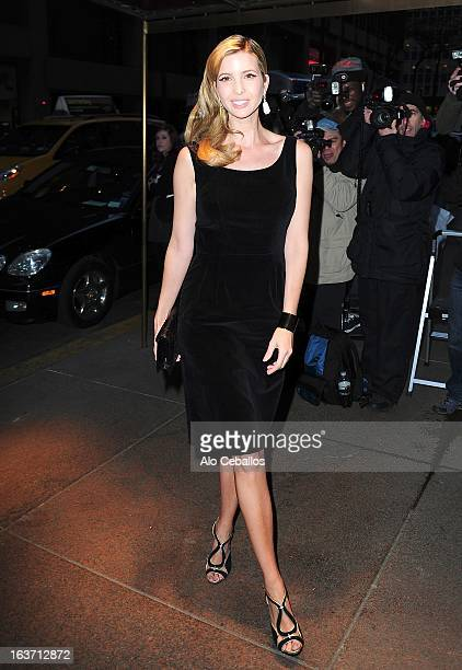 Ivanka Trump attends The New York Observer 25th Anniversary Party at the Four Seasons Restaurant on March 14 2013 in New York City