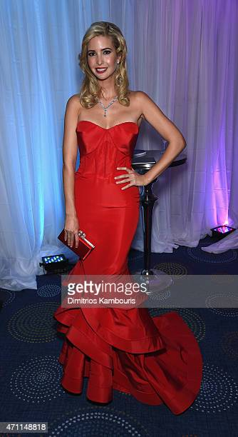Ivanka Trump attends the Yahoo News/ABC News White House Correspondents' dinner reception preparty at the Washington Hilton on Saturday April 25 2015...