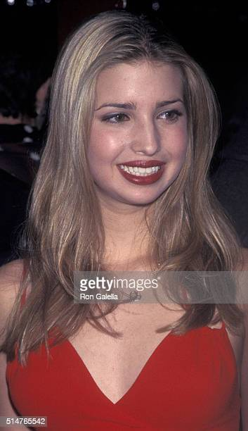 Ivanka Trump attends Valentine's Day PreBirthday Party for Ivana Trump on February 12 1998 at Choas in New York City