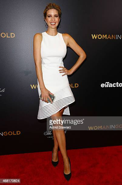 Ivanka Trump attends 'Woman In Gold' New York Premiere at The Museum of Modern Art on March 30 2015 in New York City