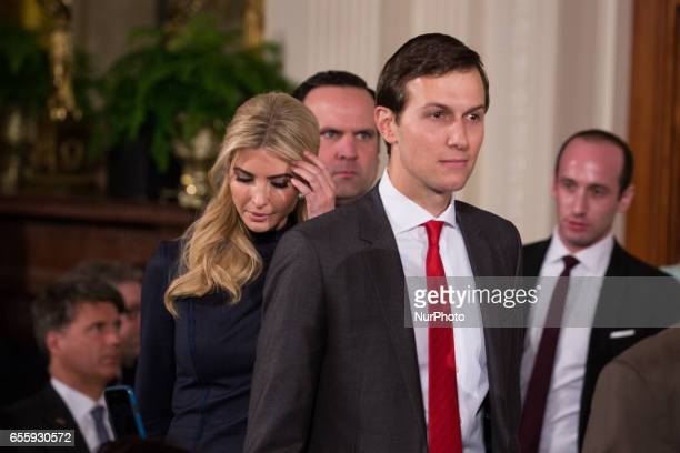 Image result for stephen miller and jared kushner getty images