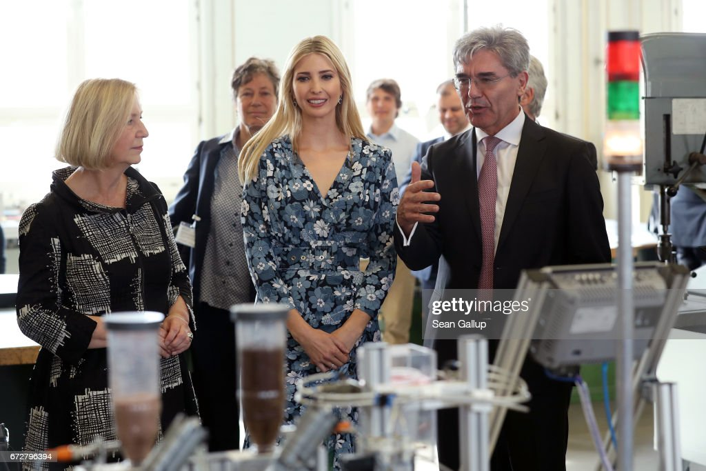 Ivanka Trump Visits Berlin After W20 Conference
