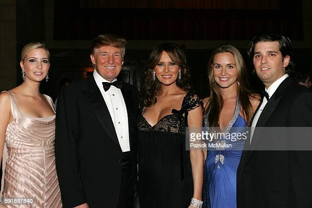 Ivanka Trump Donald Trump Melania Trump Vanessa Haydon Donald Trump and Jr attend Fashion Group International Presents The 22nd Annual Night of Stars...