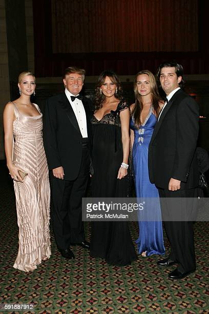 Ivanka Trump Donald Trump Melania Trump Venessa Haydon Donald Trump and Jr attend Fashion Group International Presents The 22nd Annual Night of Stars...