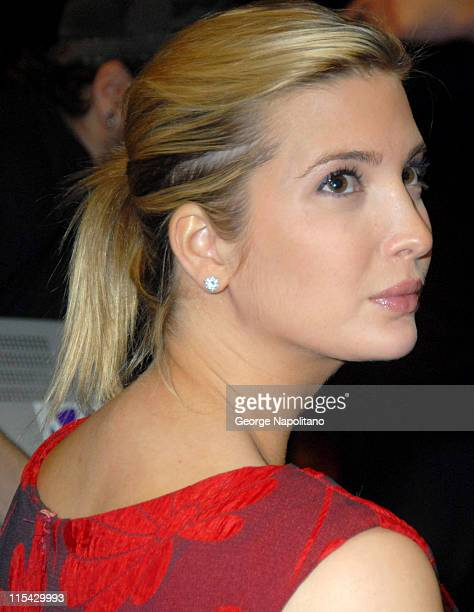 Ivanka Trump during Donald Trump and WWE News Conference for WrestleMania 23 at Trump Tower in New York City New York United States