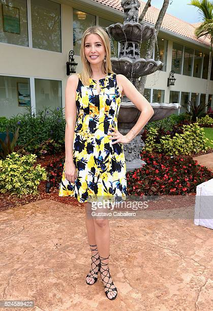 Ivanka Trump Hosts Trump Spa Suites Grand Opening at Trump National Doral on April 25 2016 in Doral Florida