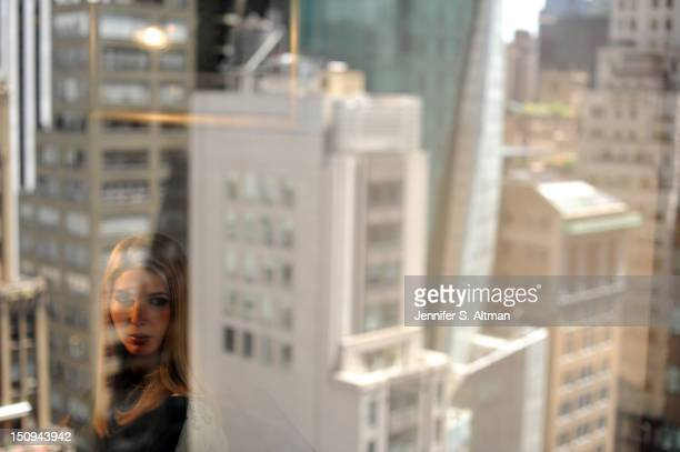 Ivanka Trump is photographed for the Washington Post on June 6 2012 in New York City