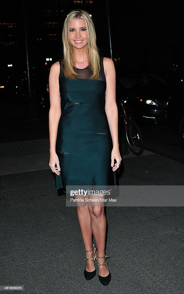 <a gi-track='captionPersonalityLinkClicked' href=/galleries/search?phrase=Ivanka+Trump&family=editorial&specificpeople=159375 ng-click='$event.stopPropagation()'>Ivanka Trump</a> is seen on April 1, 2014 in New York City.
