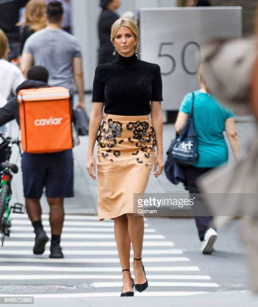 Ivanka Trump on September 19 2017 in New York City