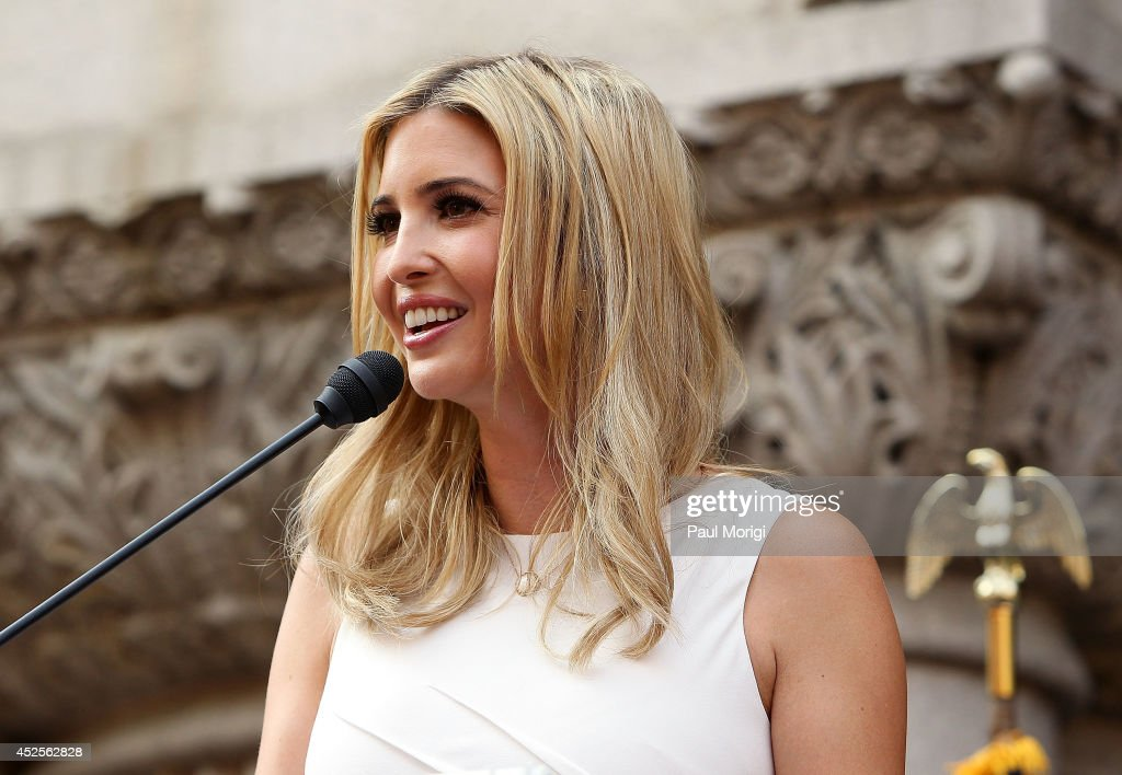 <a gi-track='captionPersonalityLinkClicked' href=/galleries/search?phrase=Ivanka+Trump&family=editorial&specificpeople=159375 ng-click='$event.stopPropagation()'>Ivanka Trump</a> speaks at the Trump International Hotel Washington, D.C Groundbreaking Ceremony at Old Post Office on July 23, 2014 in Washington, DC.