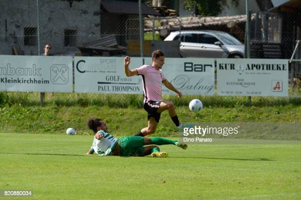 Ivaylo Chocev of US Citta di Palermo in action during the PreSeason Friendly match bewteen US Citta di Palermo and ND Ilirija at Sport Arena on July...
