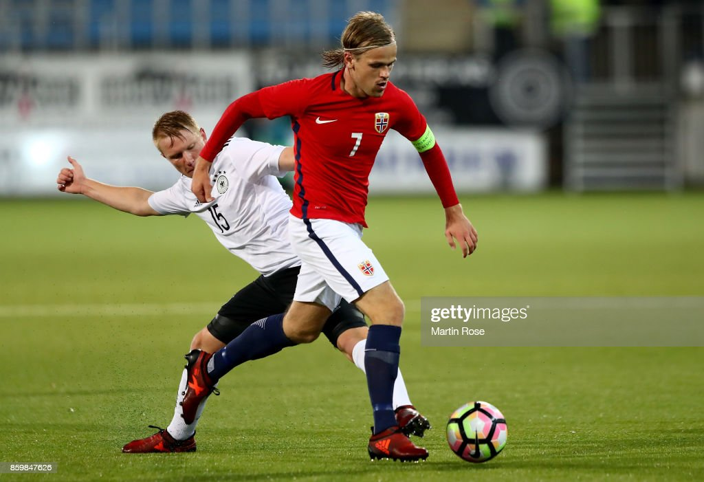 Norway U21 v Germany U21 - UEFA Under21 Euro 2019 Qualifier