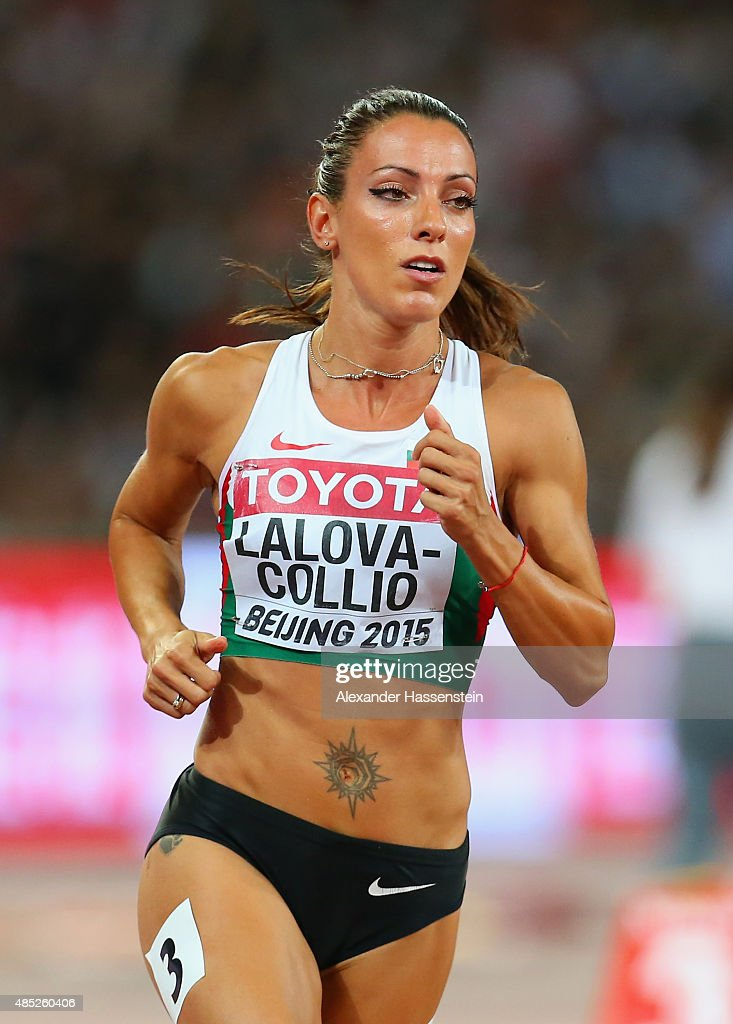 Ivet LalovaCollio of Bulgaria competes in the Women's 200 metres heats during day five of the 15th IAAF World Athletics Championships Beijing 2015 at...