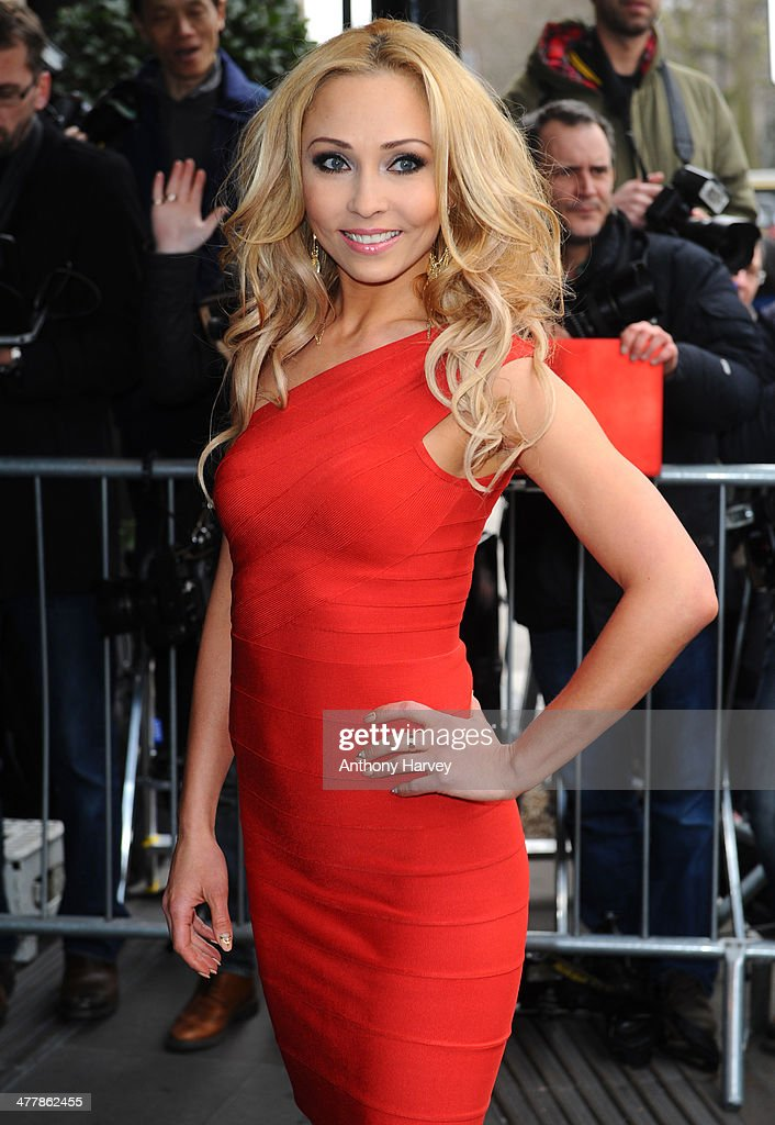 Iveta Lukosiute attends the 2014 TRIC Awards at The Grosvenor House Hotel on March 11, 2014 in London, England.