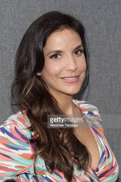 Ivete Sangalo attends a press conference at Gibson Miami Showroom on August 27 2010 in Miami Florida