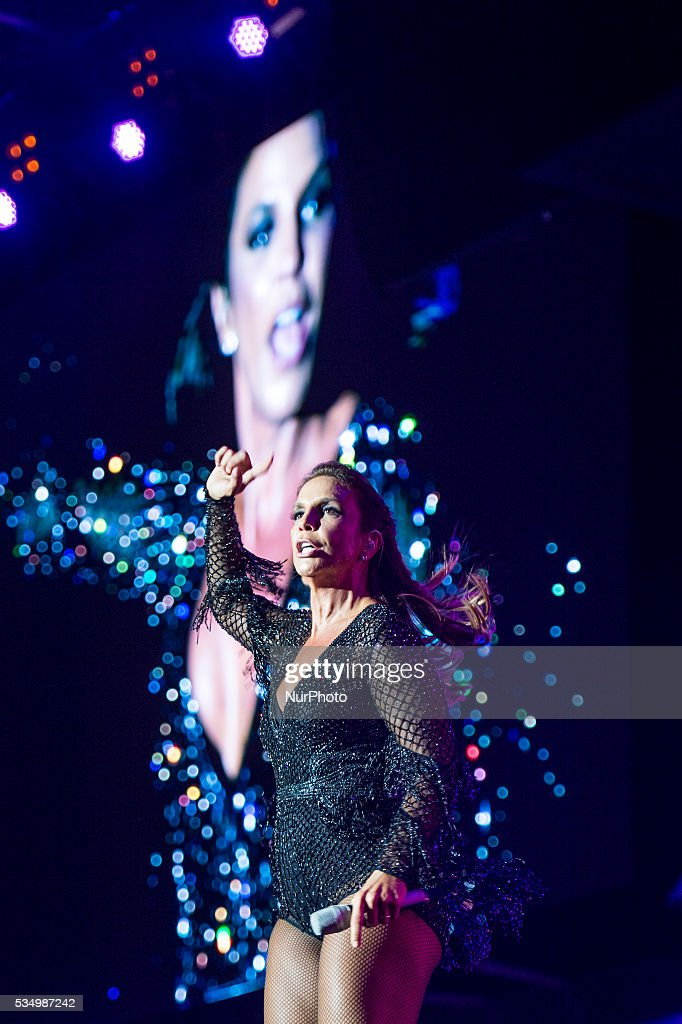 Ivete Sangalo performance in Rock in Rio 2016 Lisbon, on May 28, 2016.
