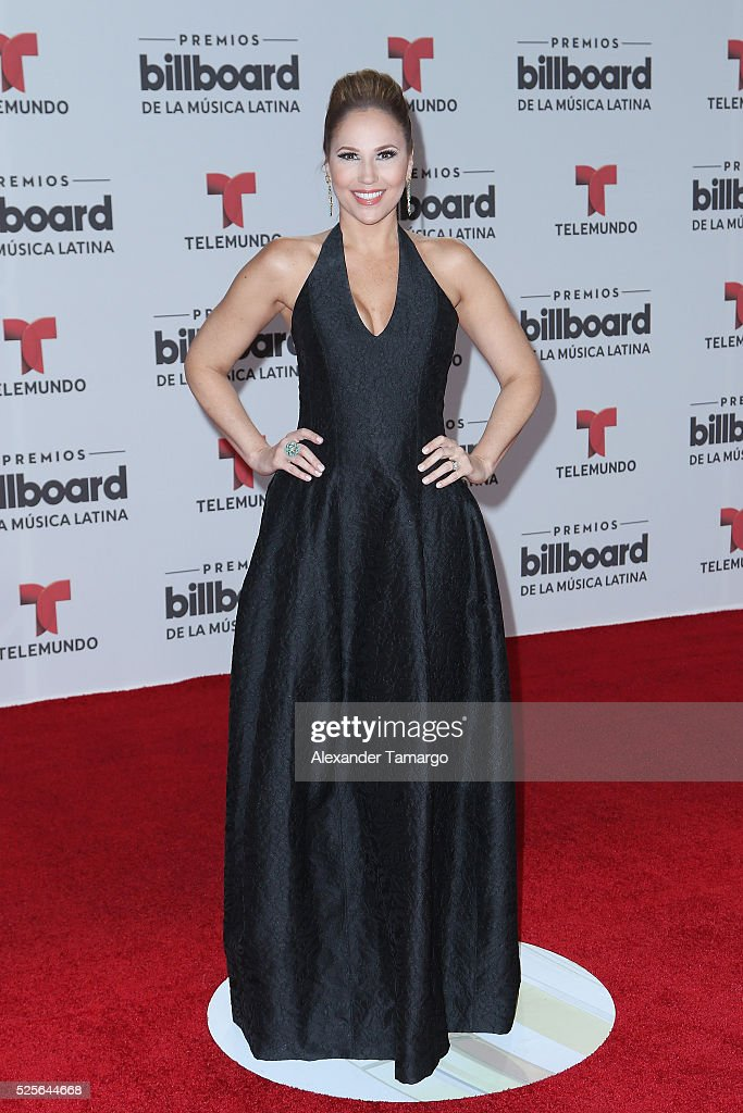 Ivette Machin attends the Billboard Latin Music Awards at Bank United Center on April 28, 2016 in Miami, Florida.